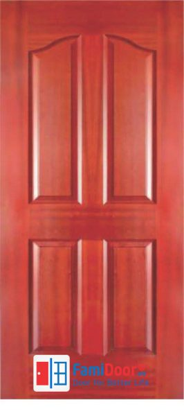 CỬA GỖ HDF VENEER 2A – WALNUT Showroom Famidoor 0824.400.400