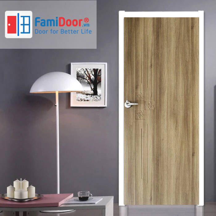 Cửa nhựa Composite 11 ở Showroom Famidoor 0886.500.500