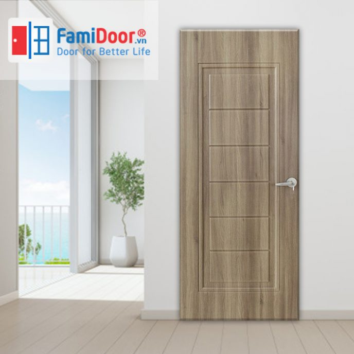 Cửa nhựa ABS New 02 ở Showroom Famidoor 0828.400.400