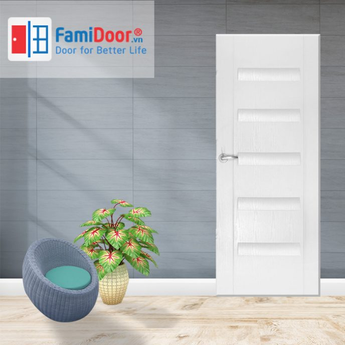 Cửa nhựa ABS New 04 ở Showroom Famidoor 0855.400.400