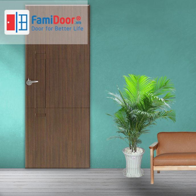 Cửa nhựa ABS New 06 ở Showroom Famidoor 0818.400.400