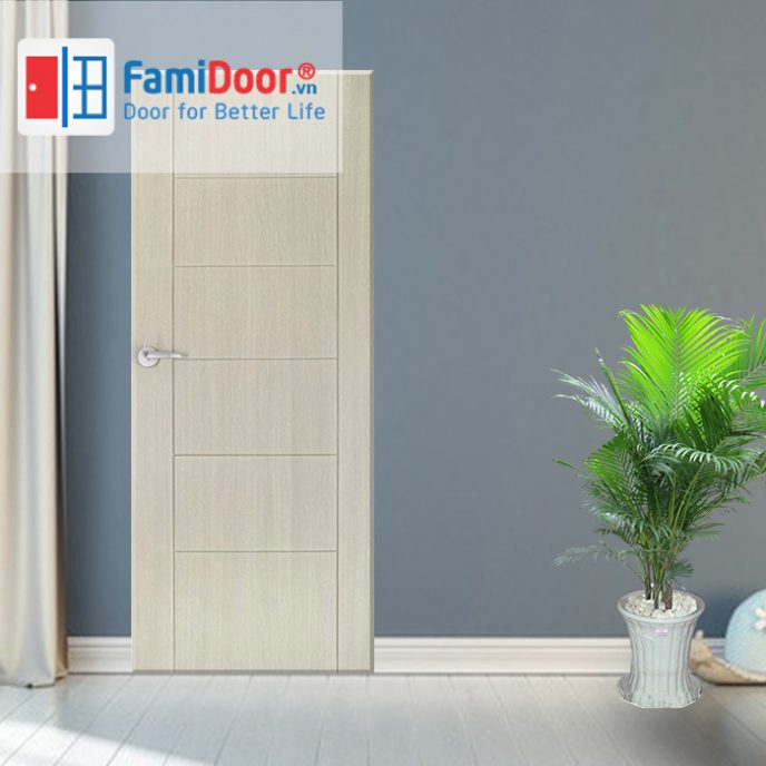 Cửa nhựa ABS New 07 ở Showroom Famidoor 0828.400.400