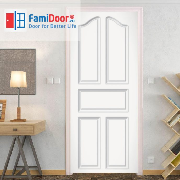 Cửa nhựa Composite SYA.102 ở Showroom Famidoor 0855.400.400