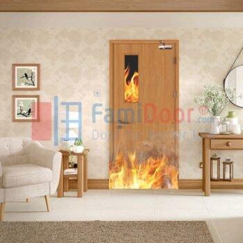 Cửa gỗ chống cháy là gì?Cấu tạo chi tiết